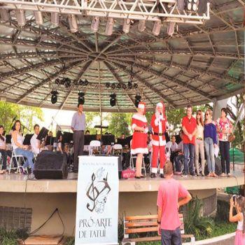 Concerto exclusivo marca lançamento de 'Natal Iluminado'