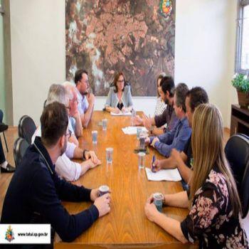 Reunião no Paço Municipal